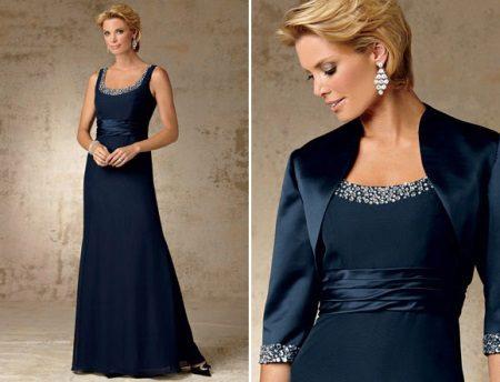 Acessórios para o vestido de noite da mãe da noiva