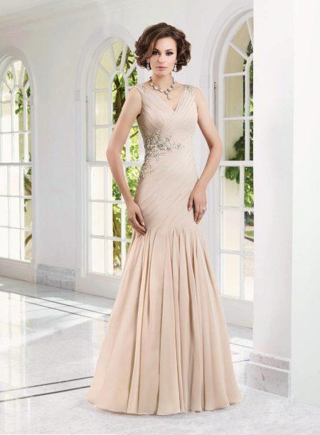 Vestido de sereia para a mãe da noiva