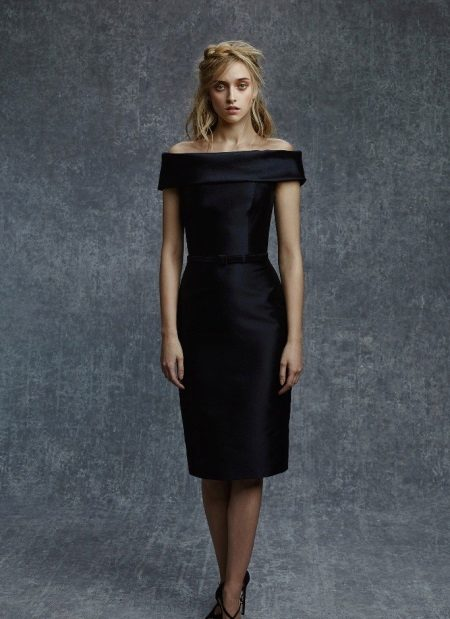 Evening dress in the style of Coco Chanel