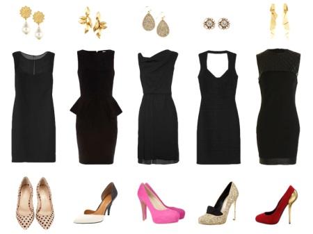 Accessoris per a vestit negre