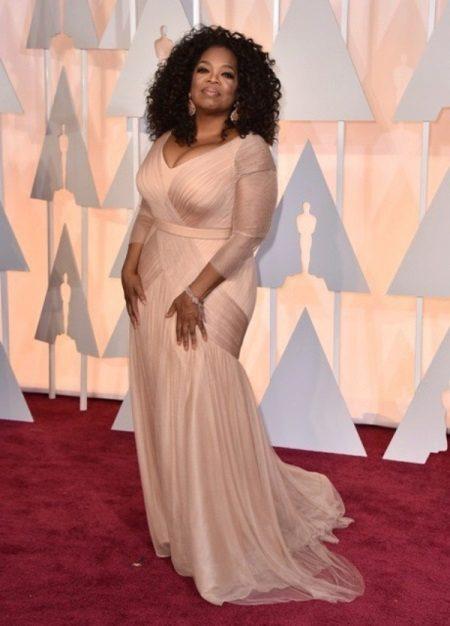 Oprah Winfrey avondjurk