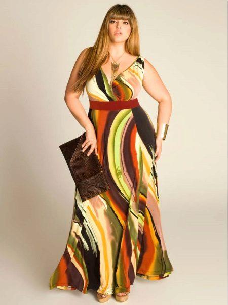 zomer kleurrijke jurk voor bruiloft