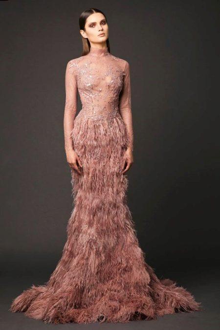 Vestido de noite sereia 2016