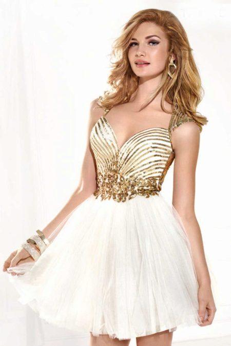 Vestido de noite para baile de Tarik Ediz