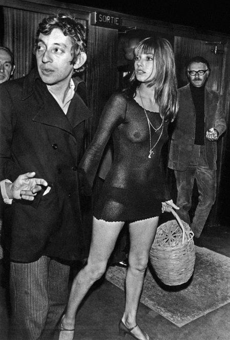 Candid jurk mini Jane Birkin