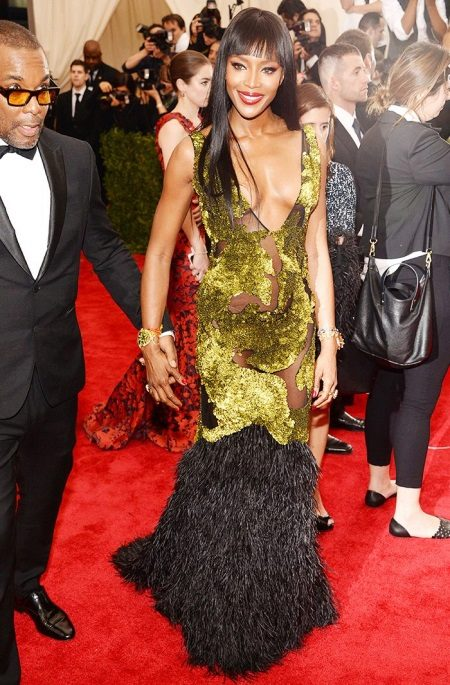 Frank Green Dress Naomi Campbell