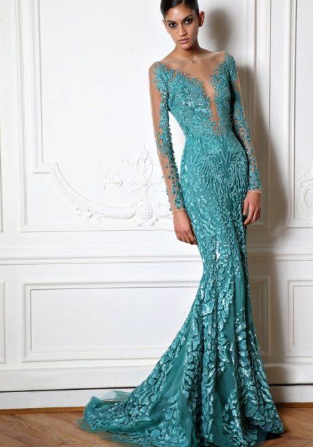 Fabuloso lindo vestido por Zuhair Murad