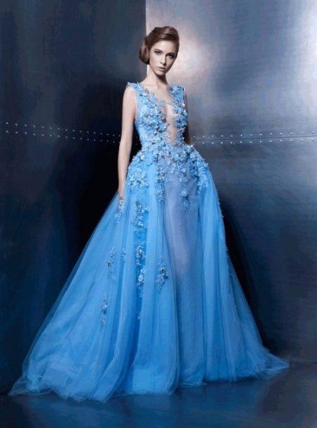 Prachtige blauwe jurk