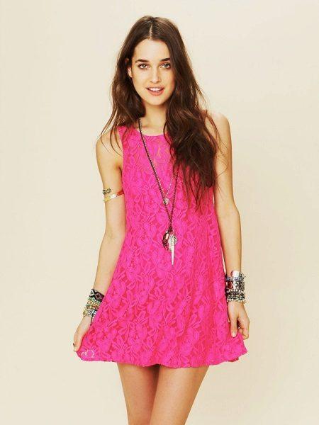 Fuchsia Dress Jewelry