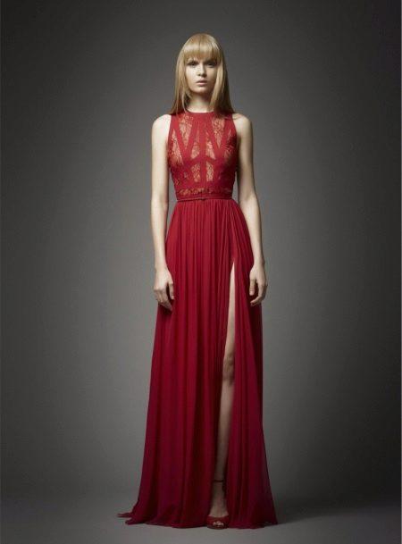 Elie Saab vörös estélyi ruha