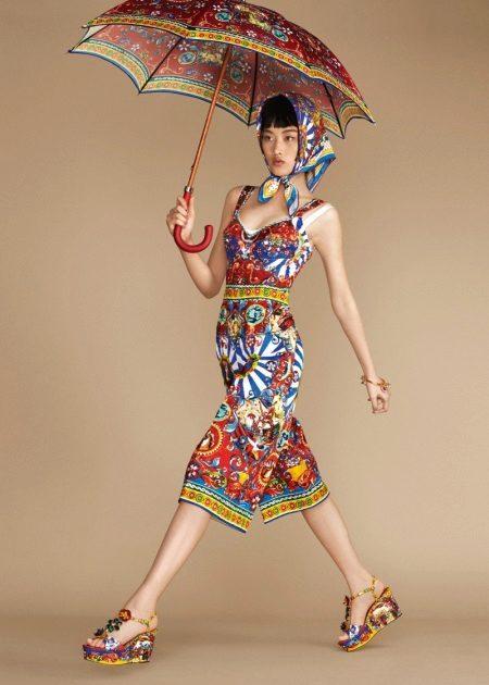Short color dress sundress