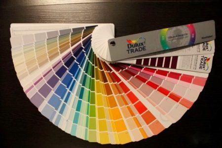 Kleurenwaaier - schakeringen van kleur