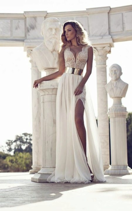 Beautiful milk dress