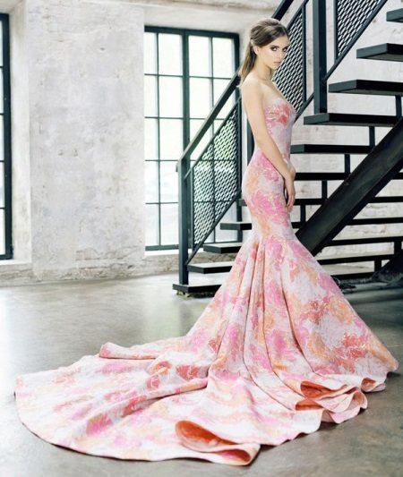 Peach Pink Dress