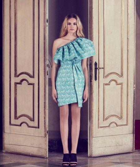 Cocktail mint dress