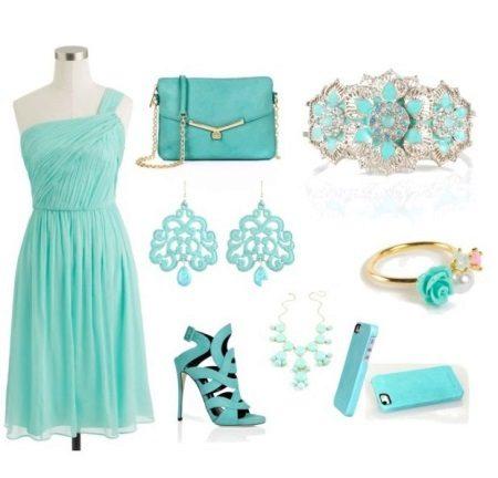 Mint Dress Jewelery