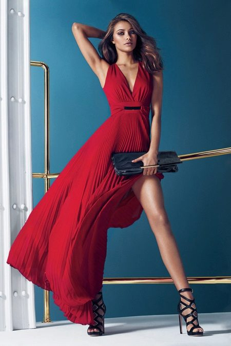 Guess Red Gown