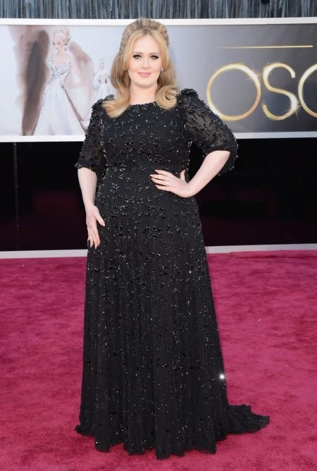 Vestit de nit al terra per a dones obeses