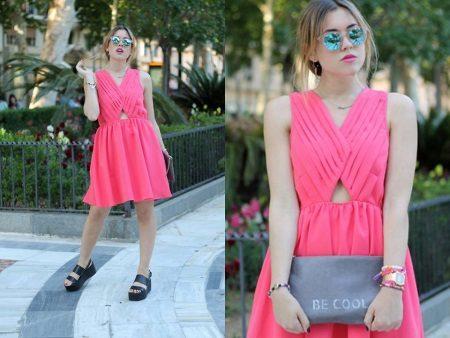 Accesorii pentru o rochie roz pentru fiecare zi