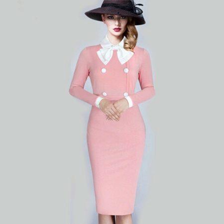 Roz rochie elegantă