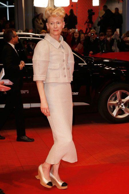 Tilda Swinton op de Berlinale 2016
