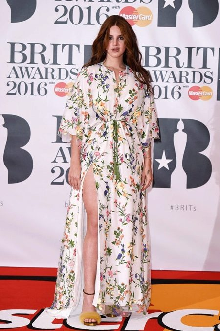 BRIT Awards 2016: Lana Del Rey