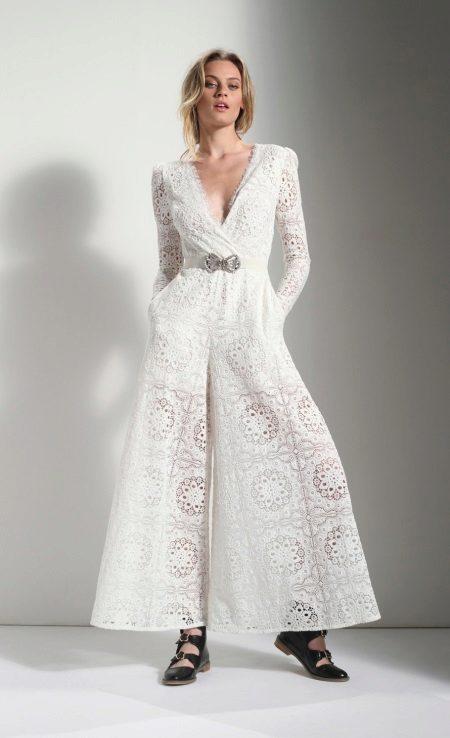 Pakaian culotte lace