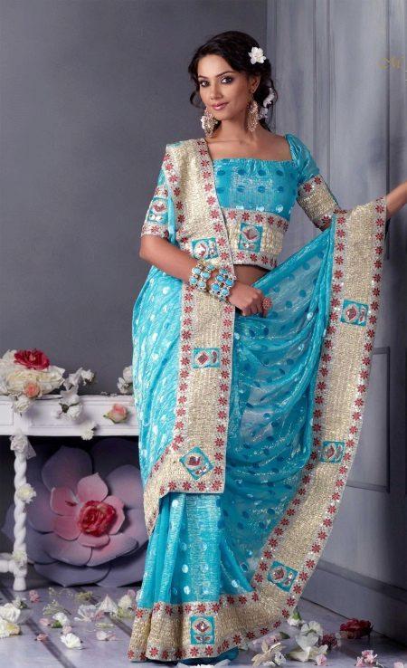 Sari klänning