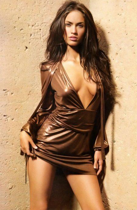 Sexet brun kjole