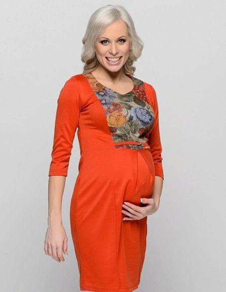 Bainha vestido para mulheres grávidas faça você mesmo