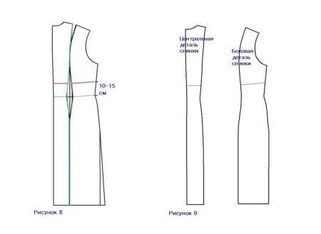 Parte de trás de um vestido para mulheres grávidas