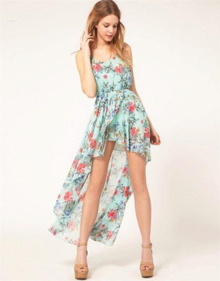 Summer dress sa tren