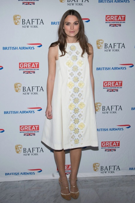 Dress trapeze for pregnant women Keira Knightley