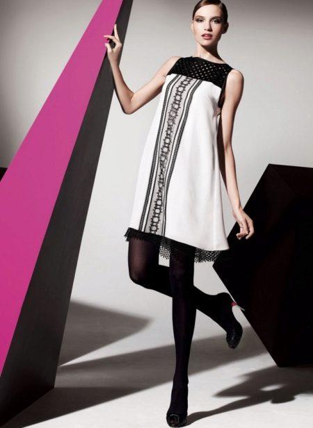 Moderne jurk A-lijn