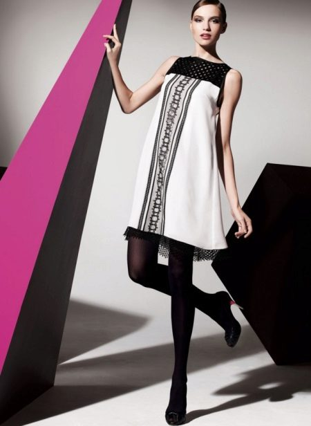 Vestido moderno A-line