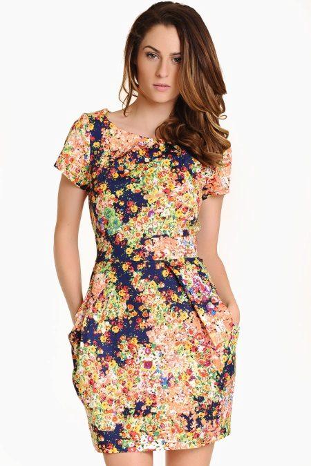 Tulip kjole med lommer