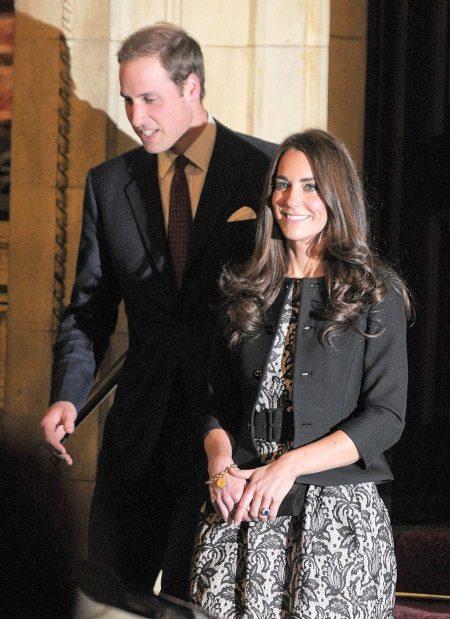 Kort jakke å kle tulipan Kate Middleton