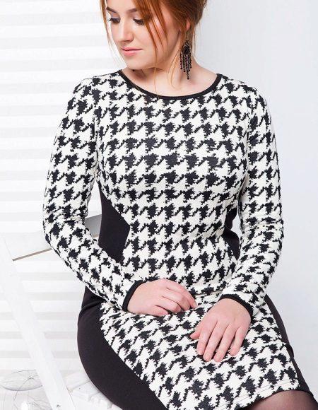 Kleed je in een kooikipvoet (ganzenvoet) voor vrouwen met overgewicht