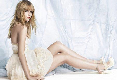 Sko under flared kjole
