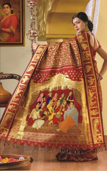 O sari mais caro do mundo