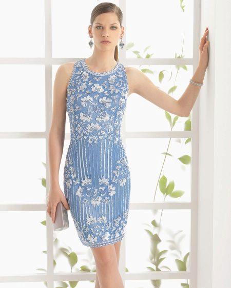 Mini suknelė su spauda