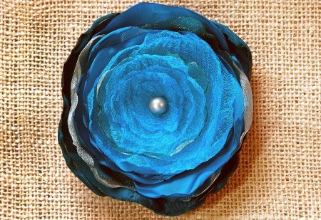 Réteges organza virág