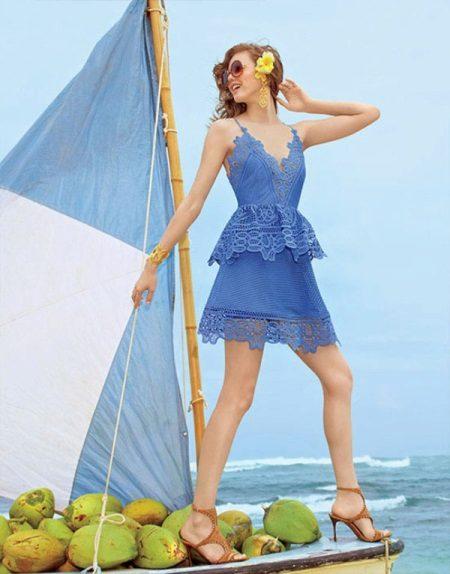 Vestido de verão curto