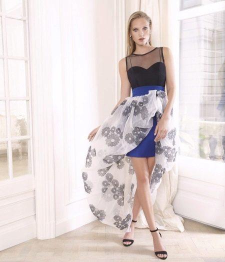 Vestido de verão com saia removível