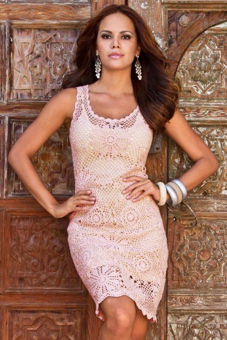 плетена рокля от лятна рокля