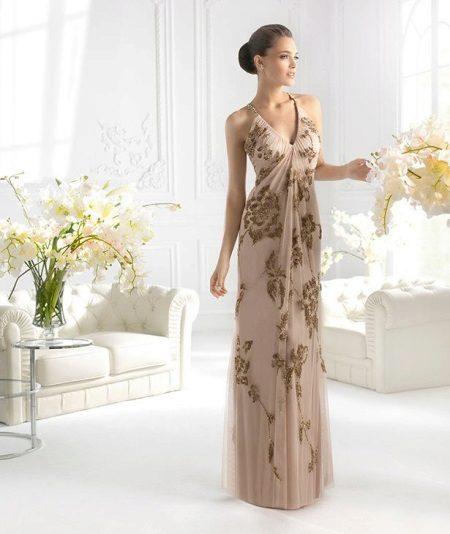 Vestido de verão para as mulheres 50 anos