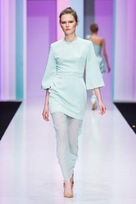 Őszi ruha rövid ujjú kimonó
