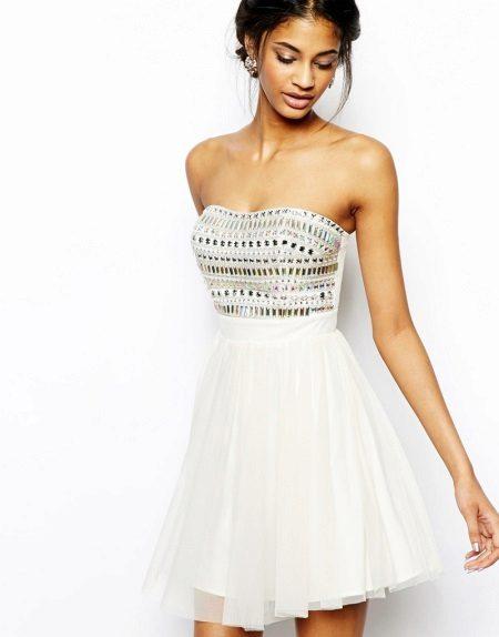 שמלת בנדו קצרה