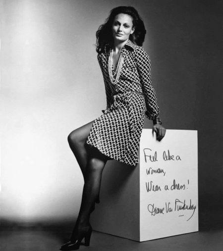 Diane von Furstenberg on kylpytakki