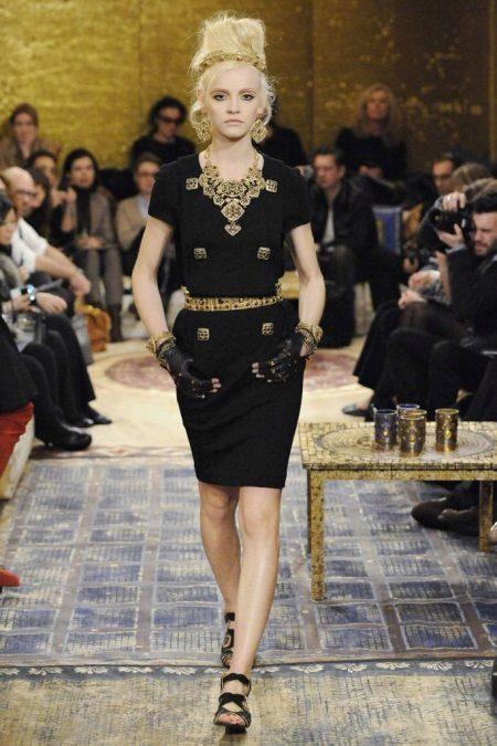 Coco Chanel Jersey Vestido
